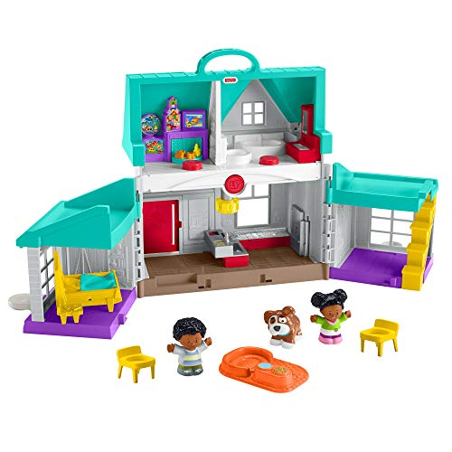 Fisher-Price Little People Big Helpers Home, Blue (African American) FFP